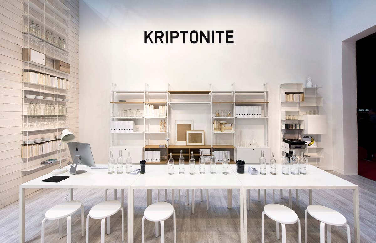 Kriptonite | Salone del Mobile 2018